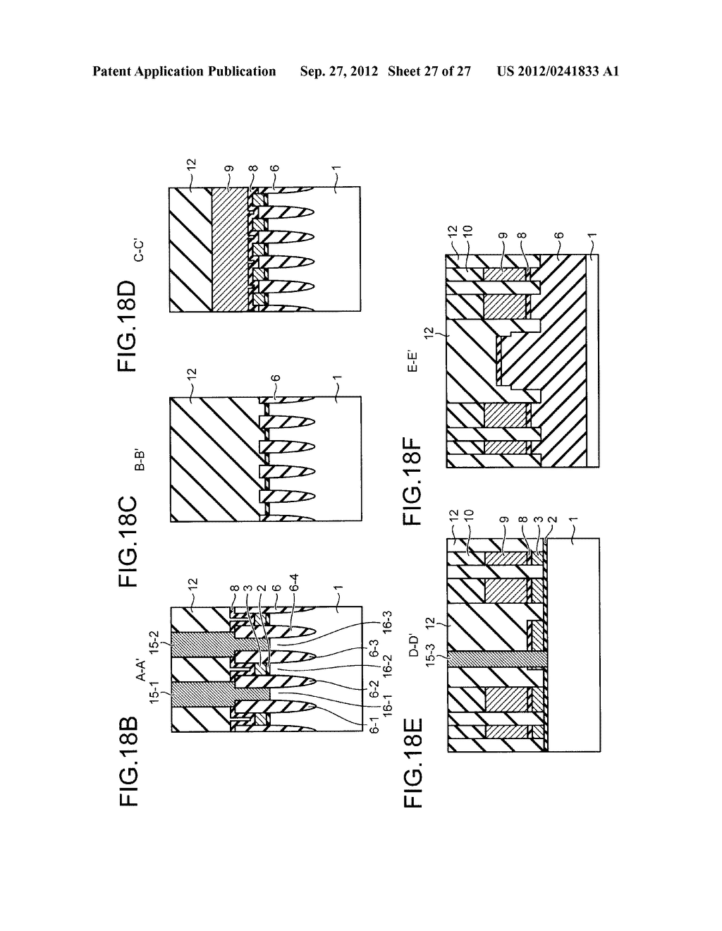NONVOLATILE SEMICONDUCTOR STORAGE DEVICE AND METHOD FOR MANUFACTURING THE     SAME - diagram, schematic, and image 28