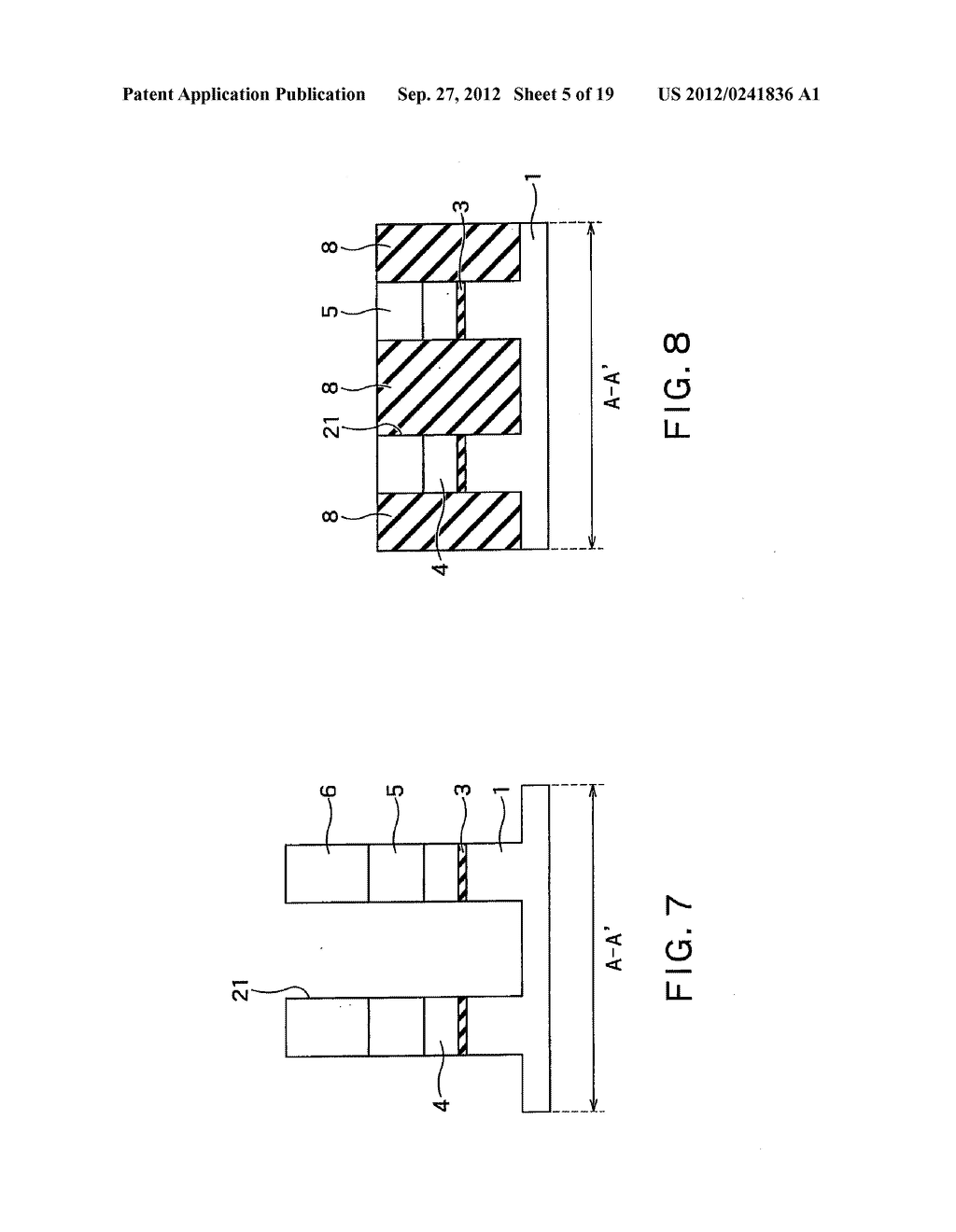 SEMICONDUCTOR DEVICE AND METHOD OF MANUFACTURING SAME - diagram, schematic, and image 06