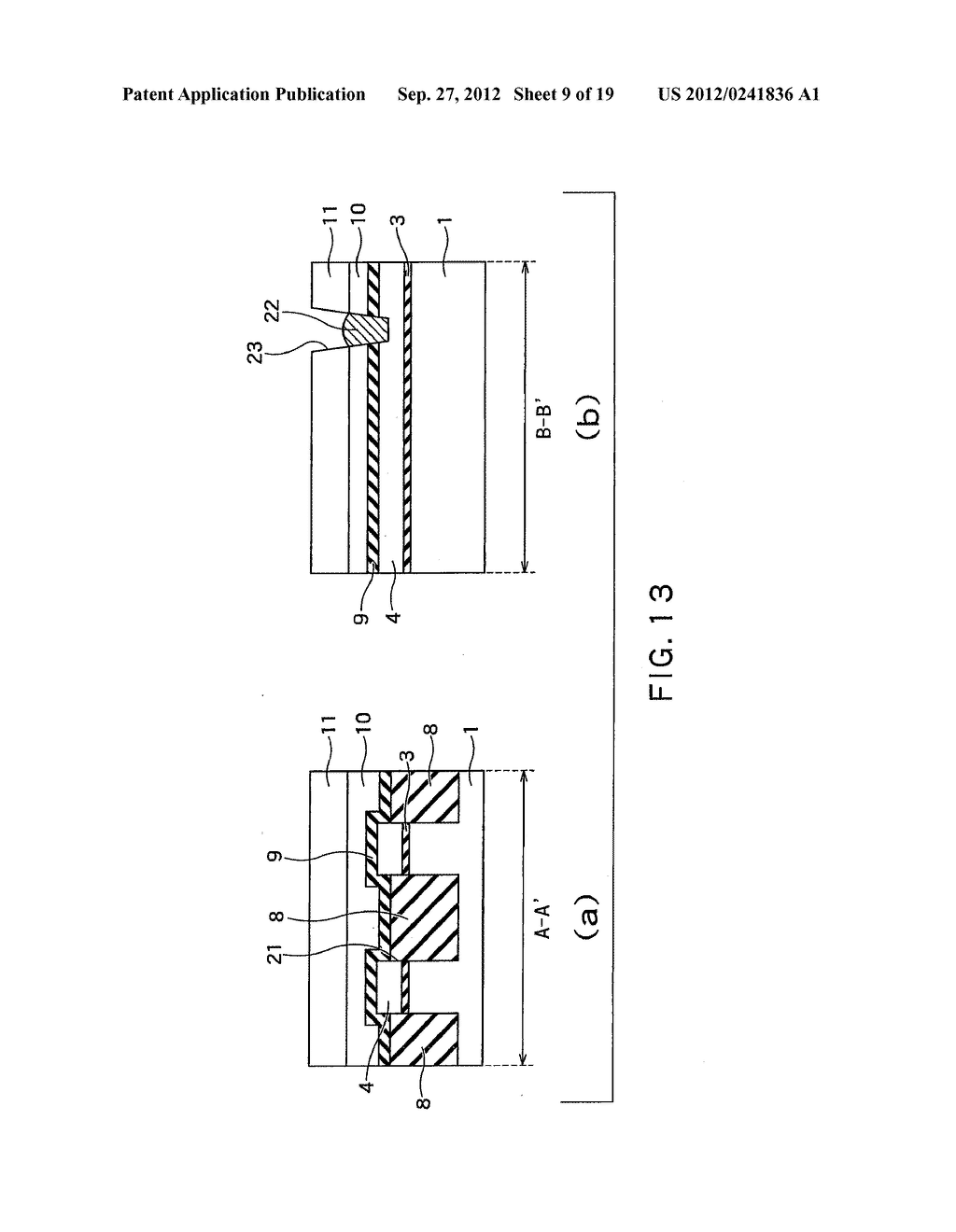 SEMICONDUCTOR DEVICE AND METHOD OF MANUFACTURING SAME - diagram, schematic, and image 10