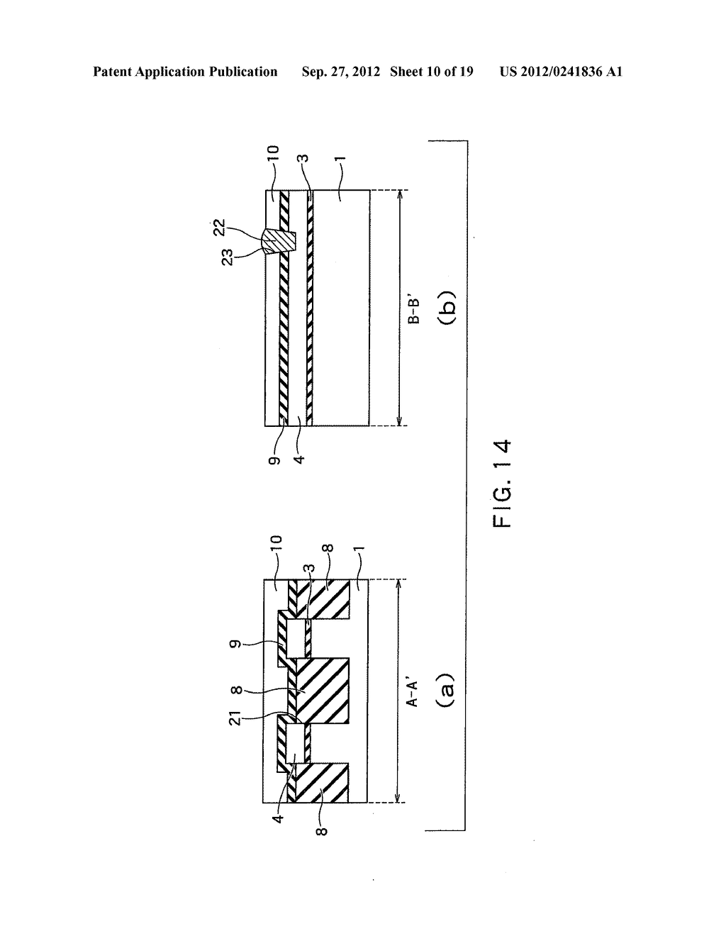 SEMICONDUCTOR DEVICE AND METHOD OF MANUFACTURING SAME - diagram, schematic, and image 11
