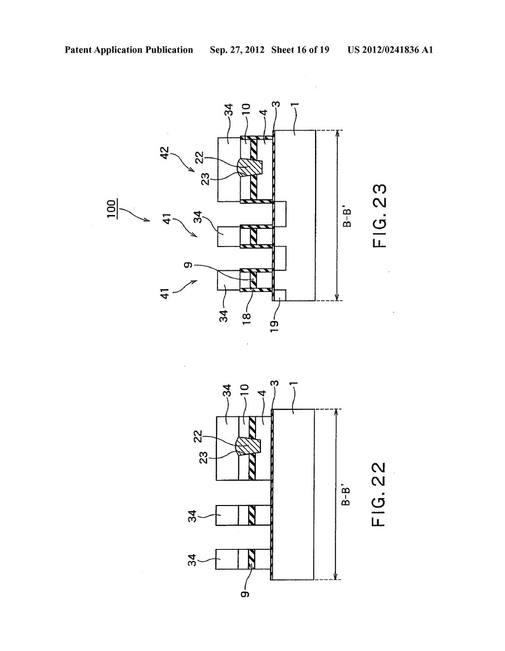 SEMICONDUCTOR DEVICE AND METHOD OF MANUFACTURING SAME - diagram, schematic, and image 17