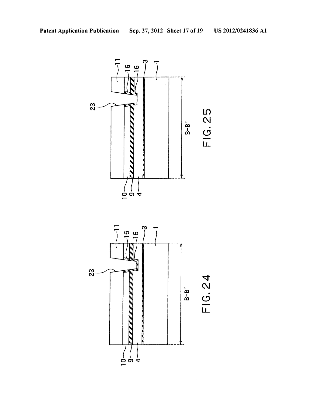 SEMICONDUCTOR DEVICE AND METHOD OF MANUFACTURING SAME - diagram, schematic, and image 18