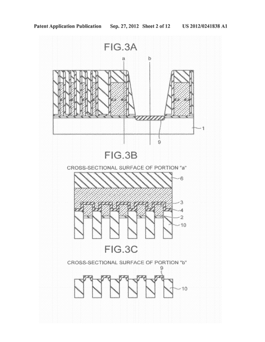 SEMICONDUCTOR STORAGE DEVICE AND METHOD FOR MANUFACTURING THE SAME - diagram, schematic, and image 03