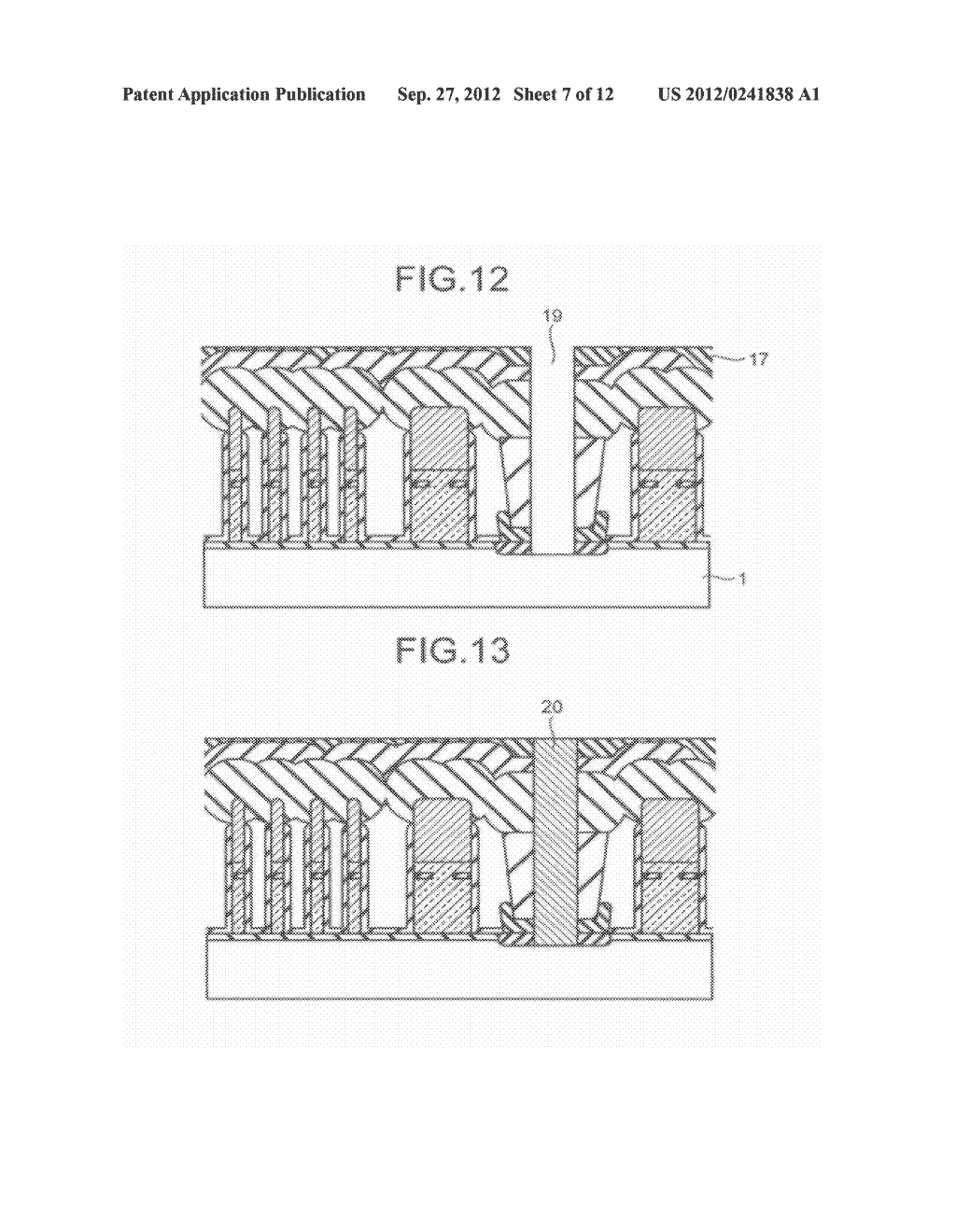 SEMICONDUCTOR STORAGE DEVICE AND METHOD FOR MANUFACTURING THE SAME - diagram, schematic, and image 08