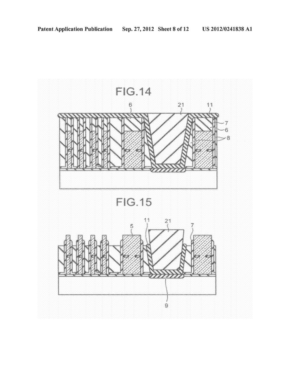 SEMICONDUCTOR STORAGE DEVICE AND METHOD FOR MANUFACTURING THE SAME - diagram, schematic, and image 09