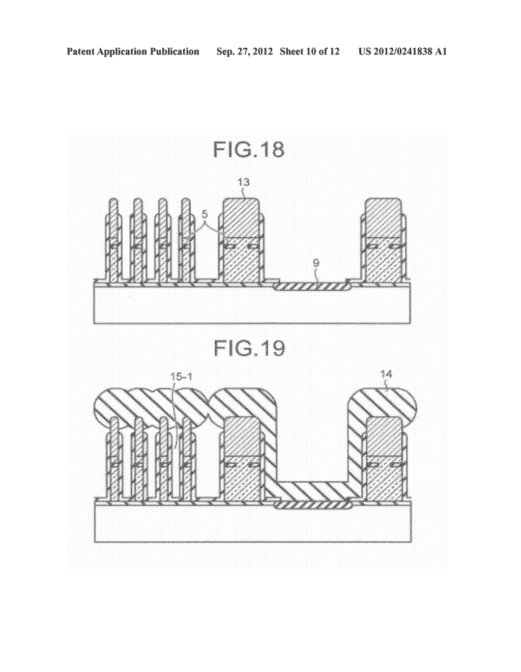 SEMICONDUCTOR STORAGE DEVICE AND METHOD FOR MANUFACTURING THE SAME - diagram, schematic, and image 11