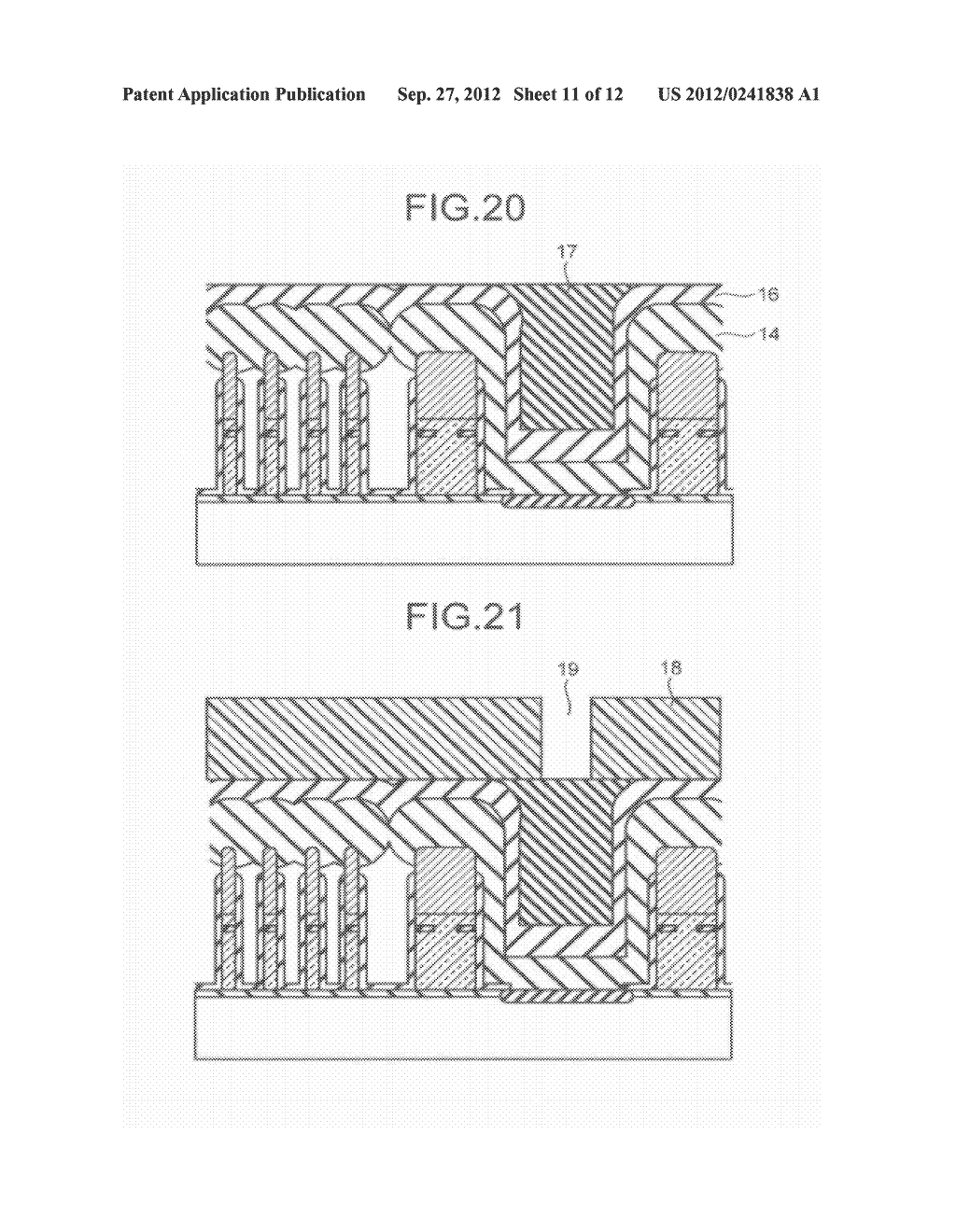 SEMICONDUCTOR STORAGE DEVICE AND METHOD FOR MANUFACTURING THE SAME - diagram, schematic, and image 12