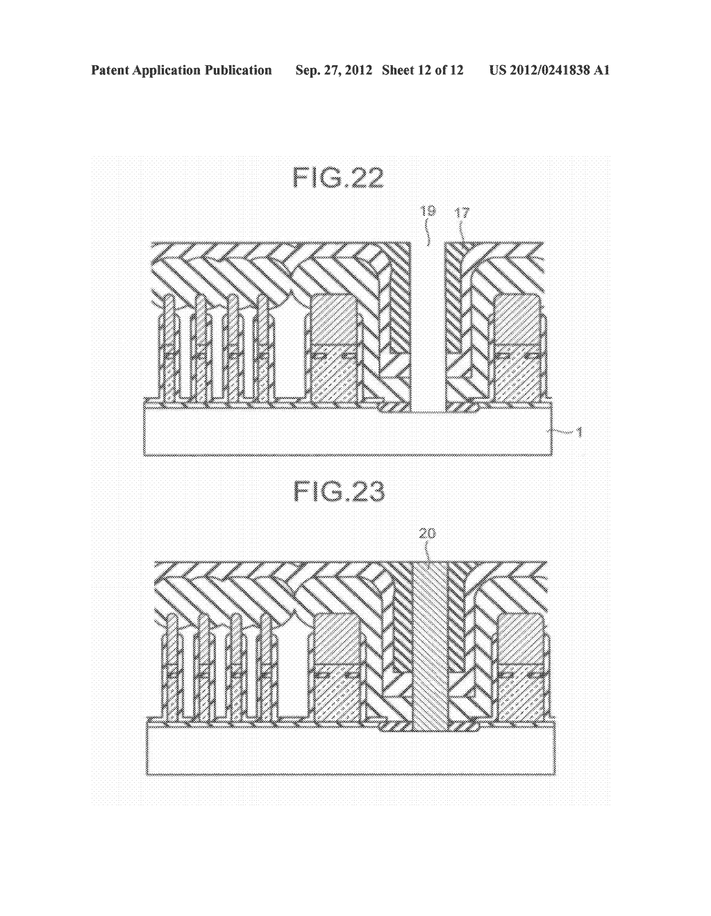 SEMICONDUCTOR STORAGE DEVICE AND METHOD FOR MANUFACTURING THE SAME - diagram, schematic, and image 13