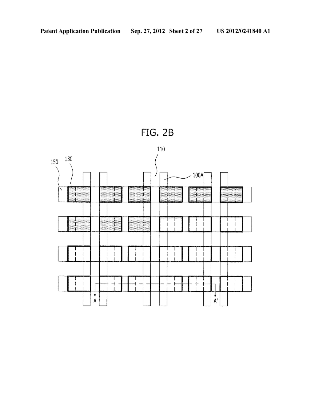 NONVOLATILE MEMORY DEVICE AND METHOD FOR FABRICATING THE SAME - diagram, schematic, and image 03