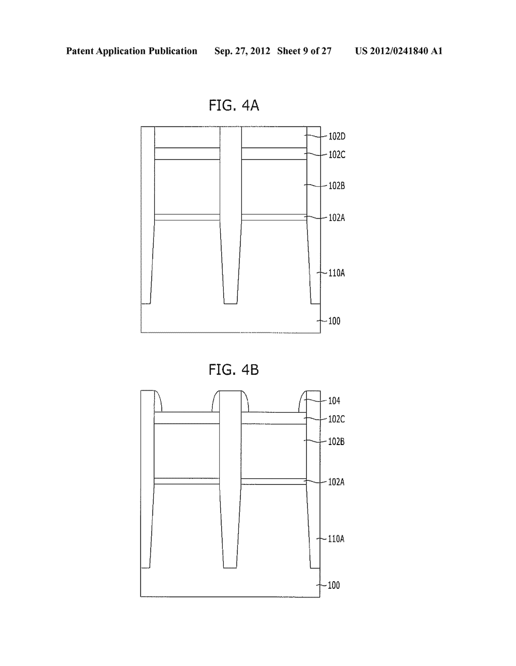 NONVOLATILE MEMORY DEVICE AND METHOD FOR FABRICATING THE SAME - diagram, schematic, and image 10