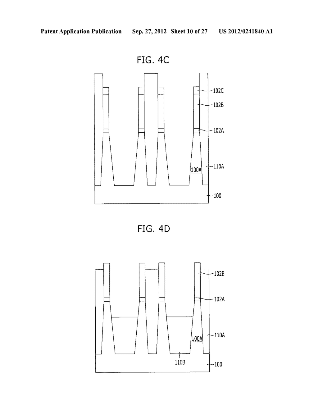 NONVOLATILE MEMORY DEVICE AND METHOD FOR FABRICATING THE SAME - diagram, schematic, and image 11