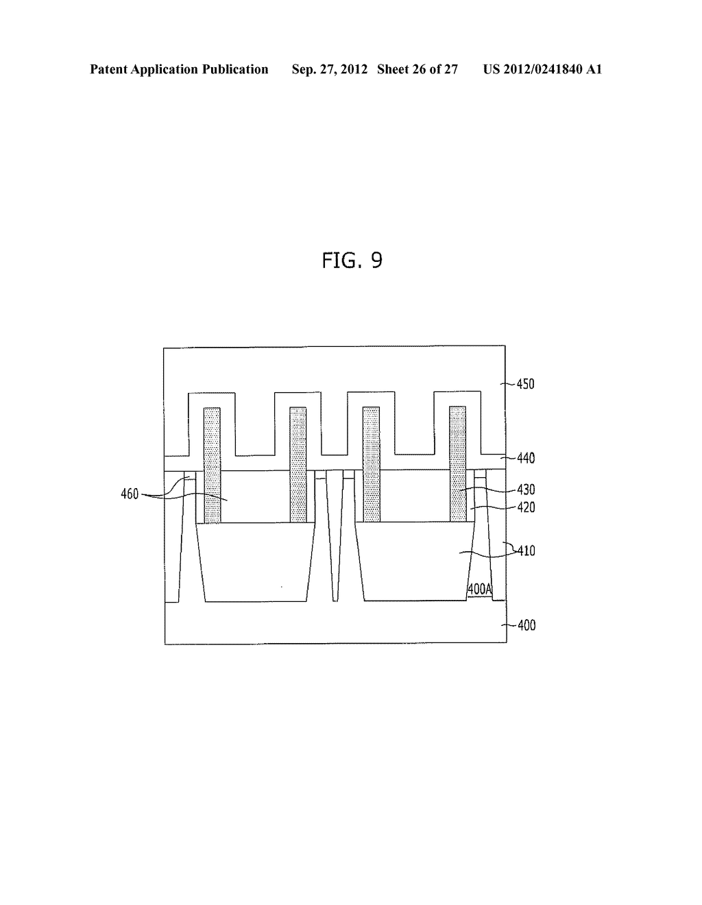 NONVOLATILE MEMORY DEVICE AND METHOD FOR FABRICATING THE SAME - diagram, schematic, and image 27