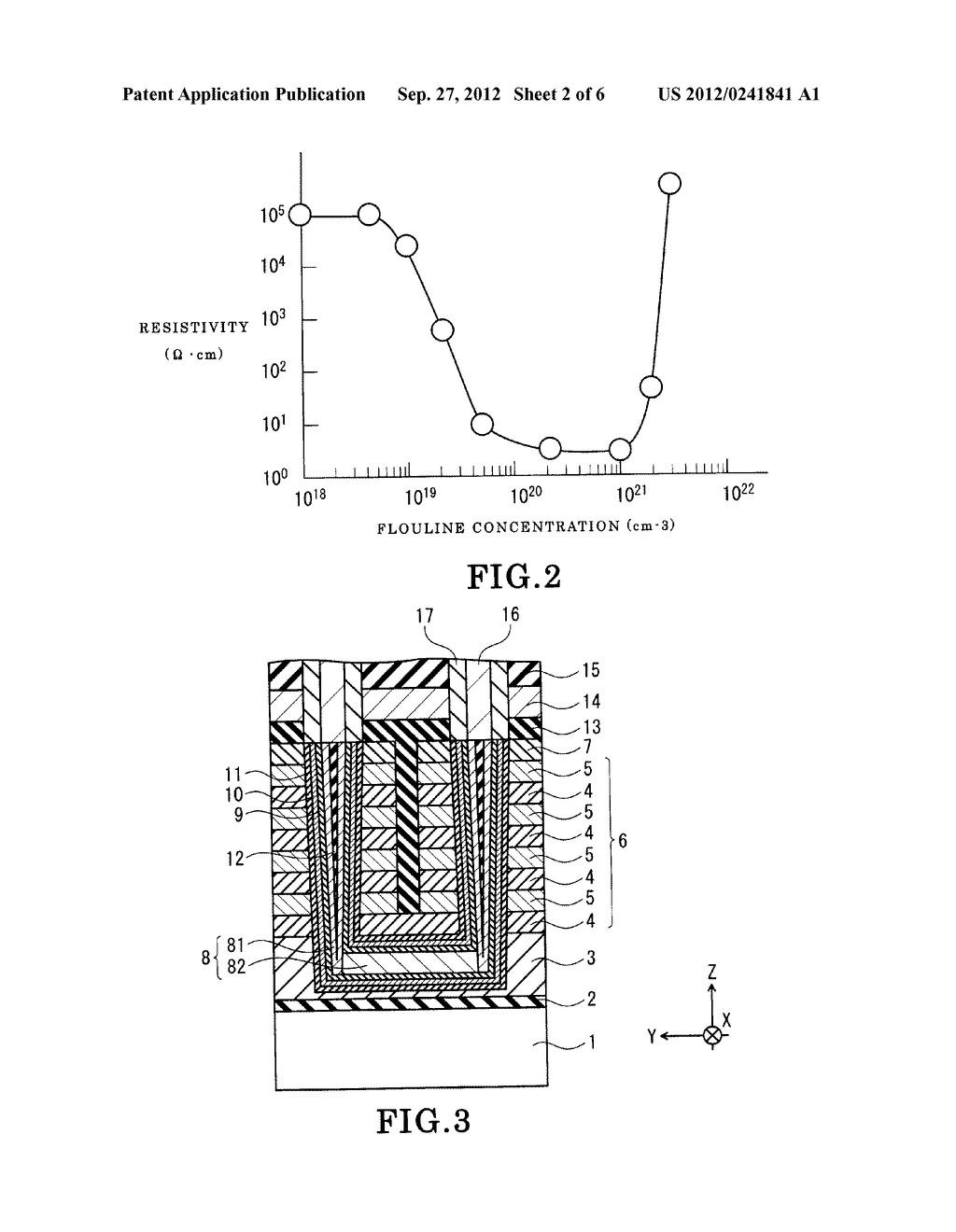 NONVOLATILE SEMICONDUCTOR MEMORY DEVICE AND METHOD OF FABRICATING THE SAME - diagram, schematic, and image 03