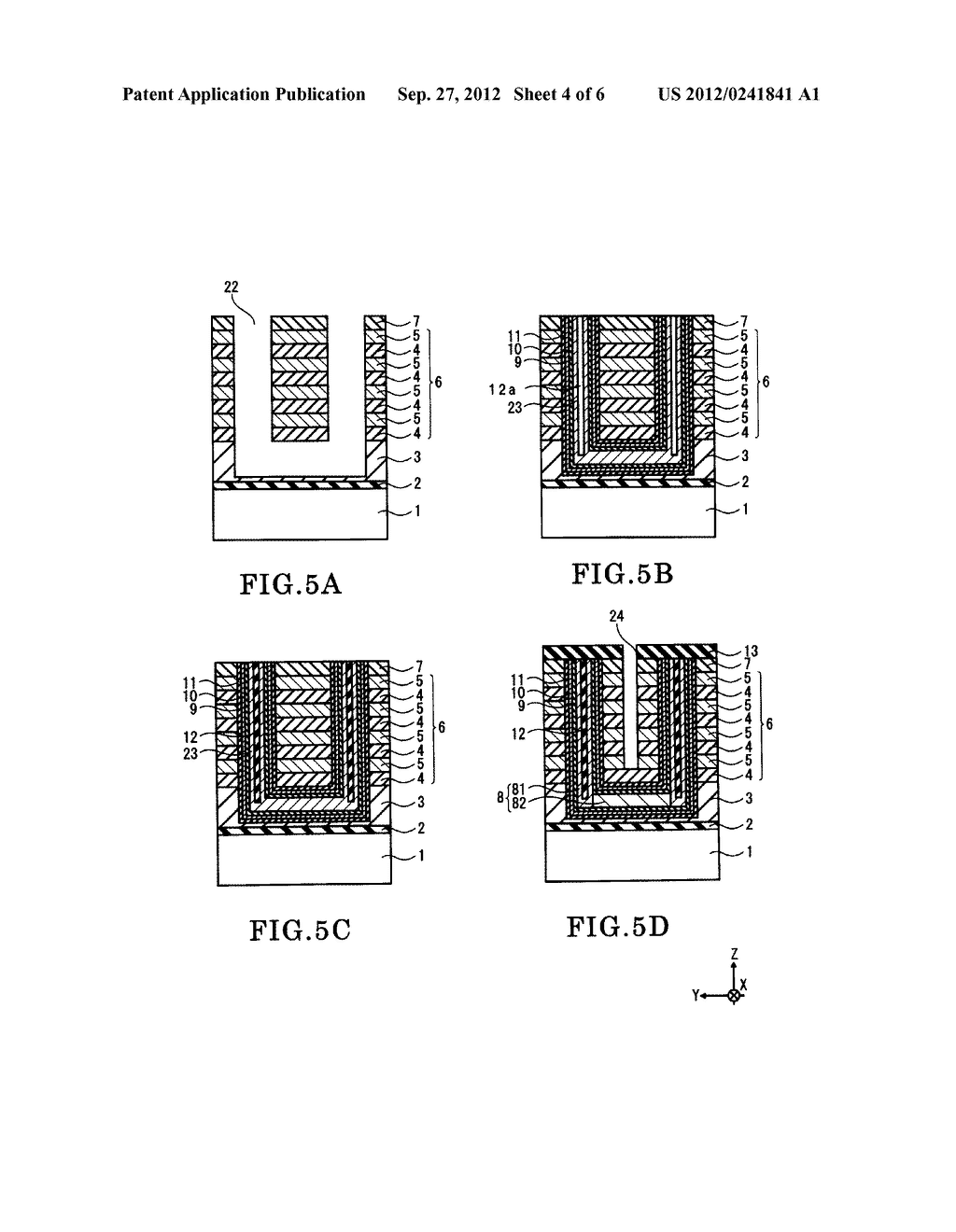 NONVOLATILE SEMICONDUCTOR MEMORY DEVICE AND METHOD OF FABRICATING THE SAME - diagram, schematic, and image 05