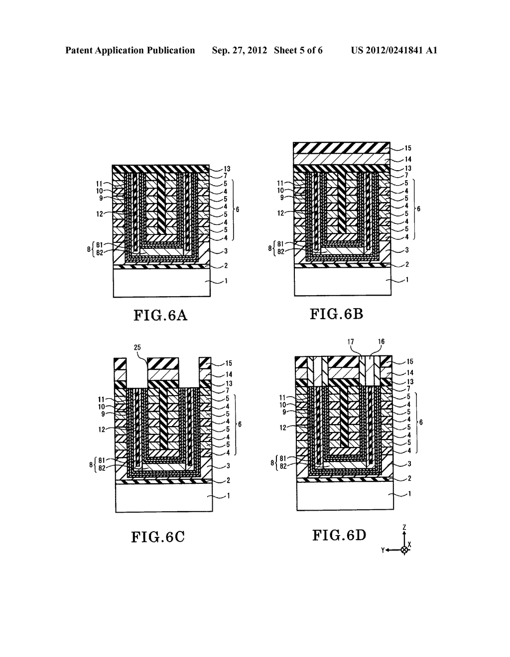 NONVOLATILE SEMICONDUCTOR MEMORY DEVICE AND METHOD OF FABRICATING THE SAME - diagram, schematic, and image 06