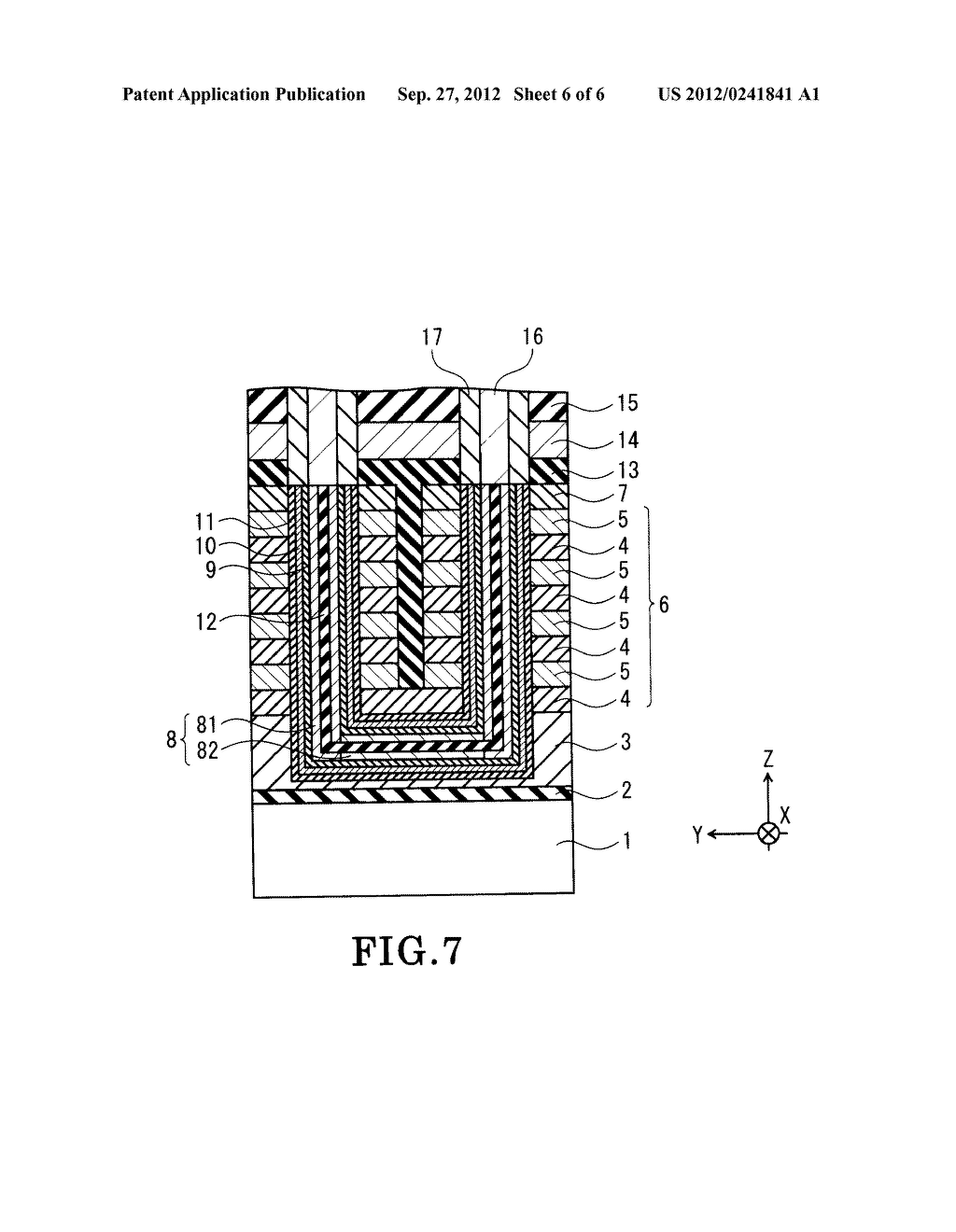 NONVOLATILE SEMICONDUCTOR MEMORY DEVICE AND METHOD OF FABRICATING THE SAME - diagram, schematic, and image 07