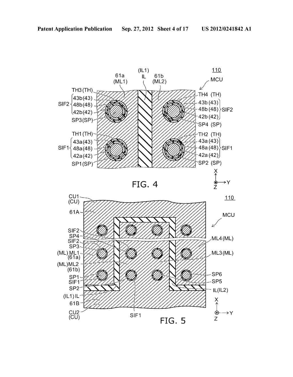 NONVOLATILE SEMICONDUCTOR MEMORY DEVICE AND METHOD FOR MANUFACTURING SAME - diagram, schematic, and image 05