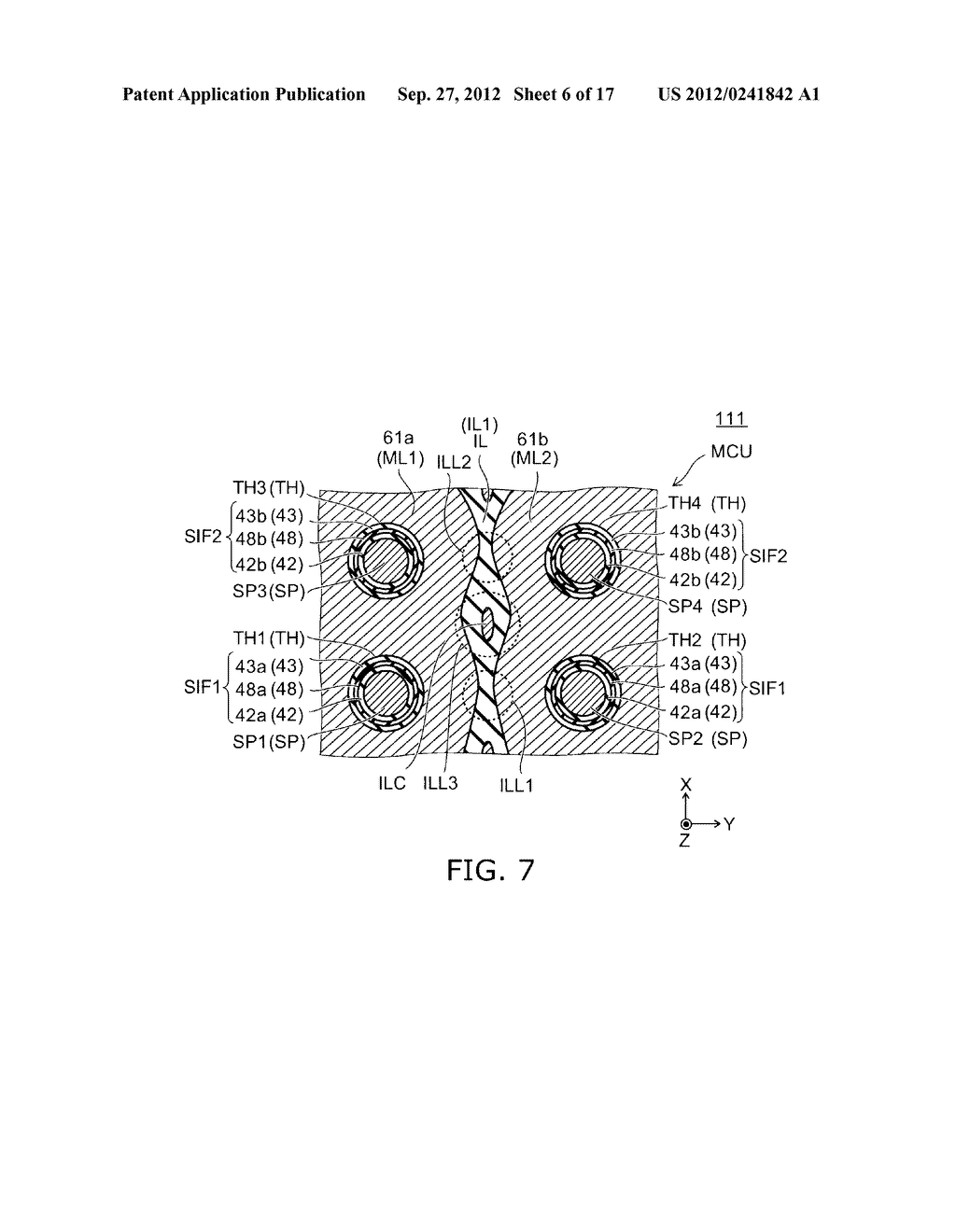 NONVOLATILE SEMICONDUCTOR MEMORY DEVICE AND METHOD FOR MANUFACTURING SAME - diagram, schematic, and image 07