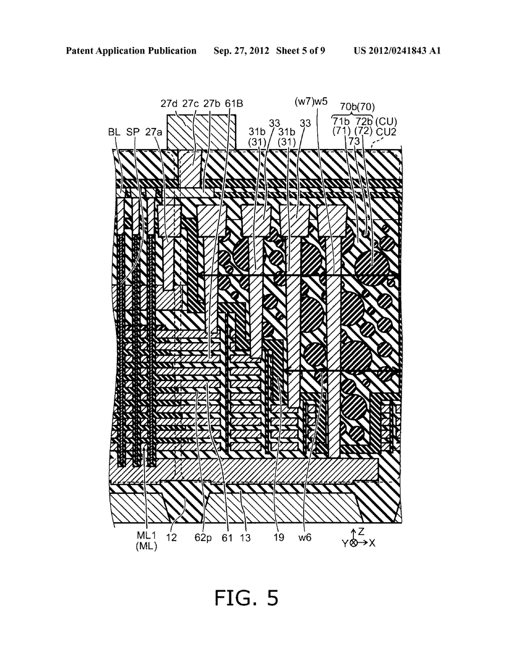 NONVOLATILE SEMICONDUCTOR MEMORY DEVICE AND METHOD FOR MANUFACTURING SAME - diagram, schematic, and image 06