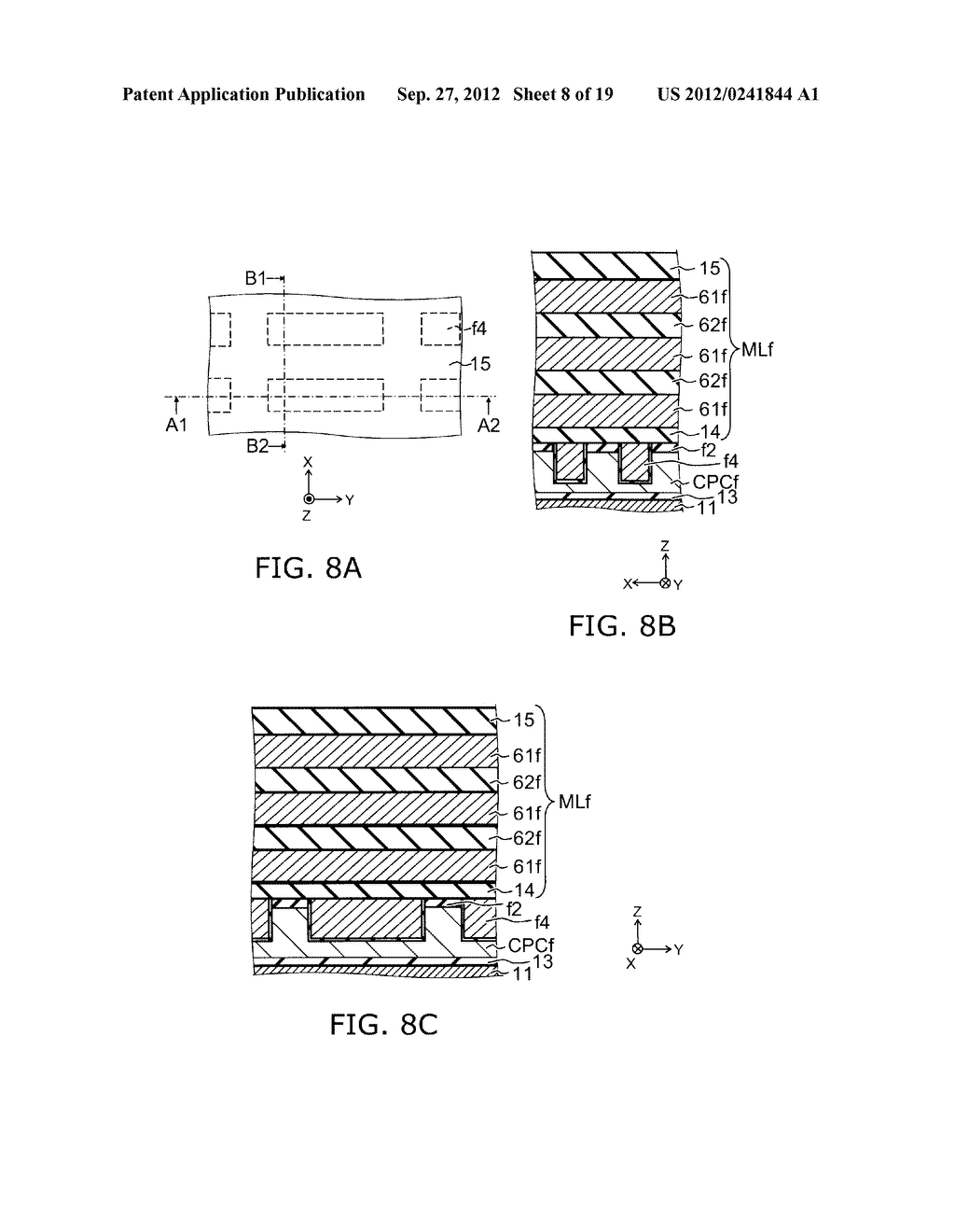 NONVOLATILE SEMICONDUCTOR MEMORY DEVICE AND METHOD FOR MANUFACTURING SAME - diagram, schematic, and image 09