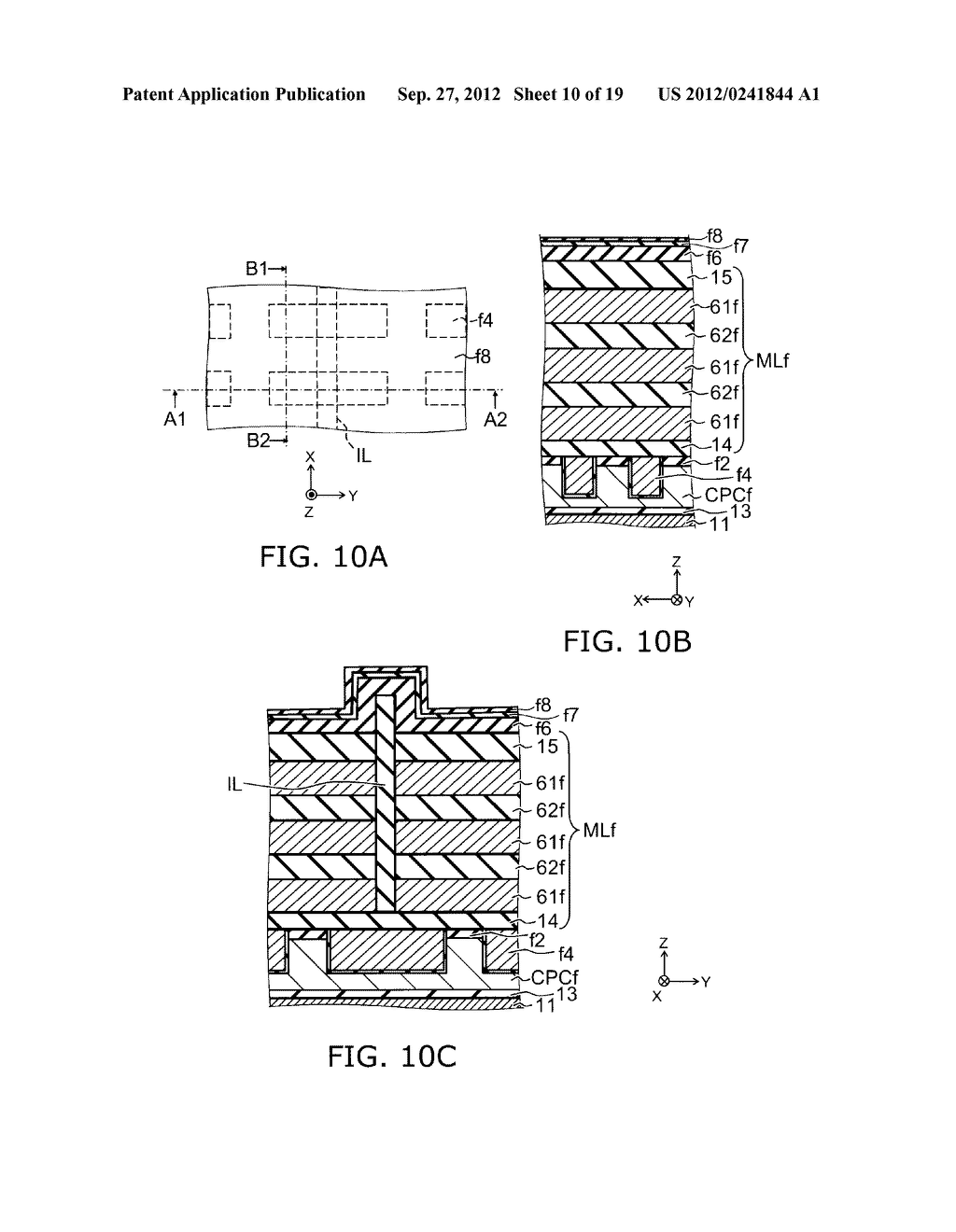 NONVOLATILE SEMICONDUCTOR MEMORY DEVICE AND METHOD FOR MANUFACTURING SAME - diagram, schematic, and image 11