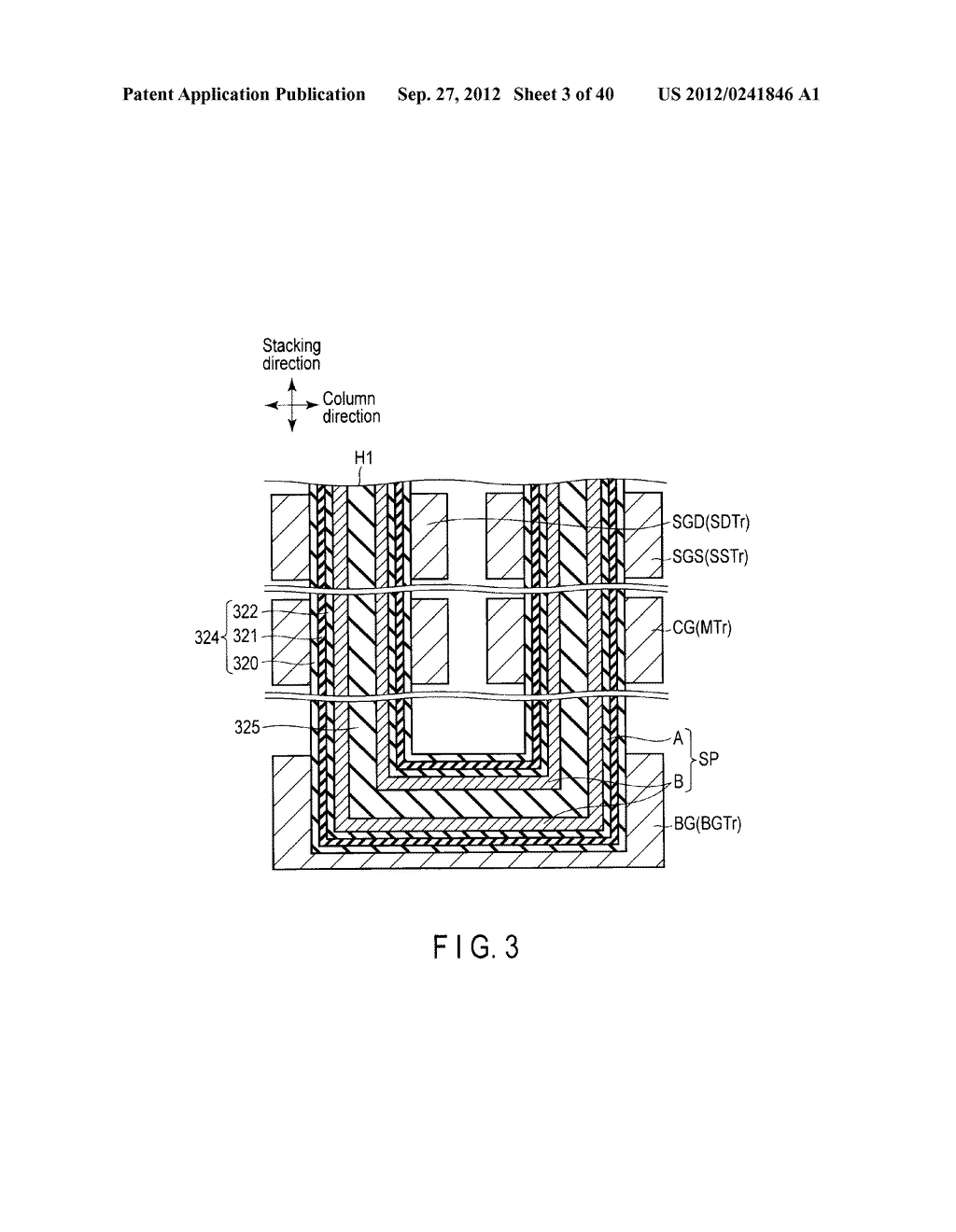 NONVOLATILE SEMICONDUCTOR MEMORY DEVICE AND METHOD OF MANUFACTURING THE     SAME - diagram, schematic, and image 04