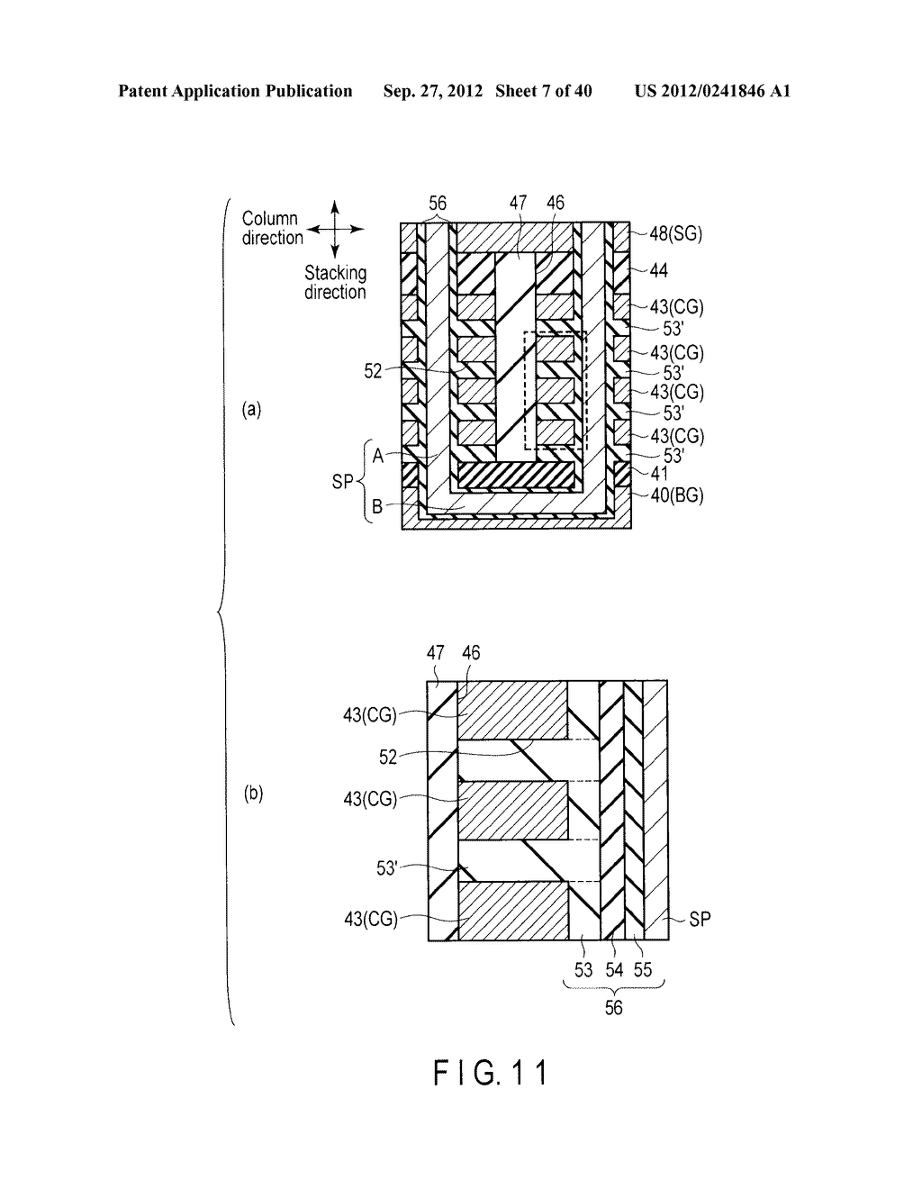 NONVOLATILE SEMICONDUCTOR MEMORY DEVICE AND METHOD OF MANUFACTURING THE     SAME - diagram, schematic, and image 08