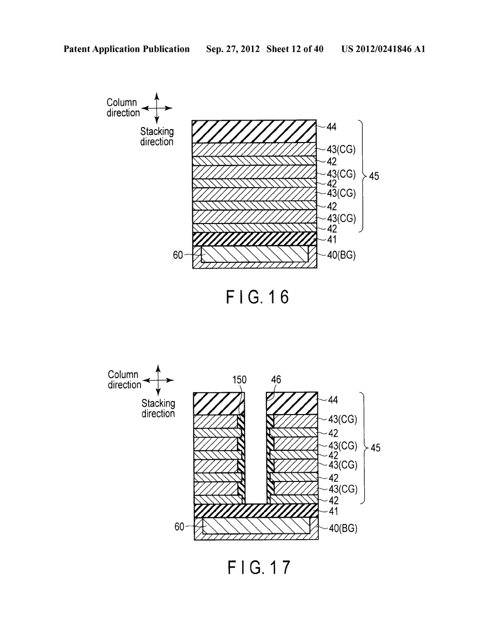 NONVOLATILE SEMICONDUCTOR MEMORY DEVICE AND METHOD OF MANUFACTURING THE     SAME - diagram, schematic, and image 13