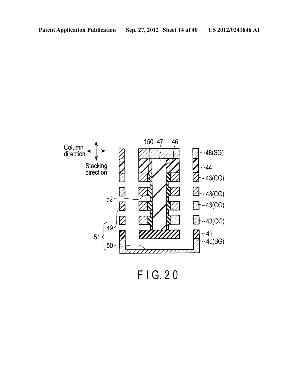 NONVOLATILE SEMICONDUCTOR MEMORY DEVICE AND METHOD OF MANUFACTURING THE     SAME - diagram, schematic, and image 15