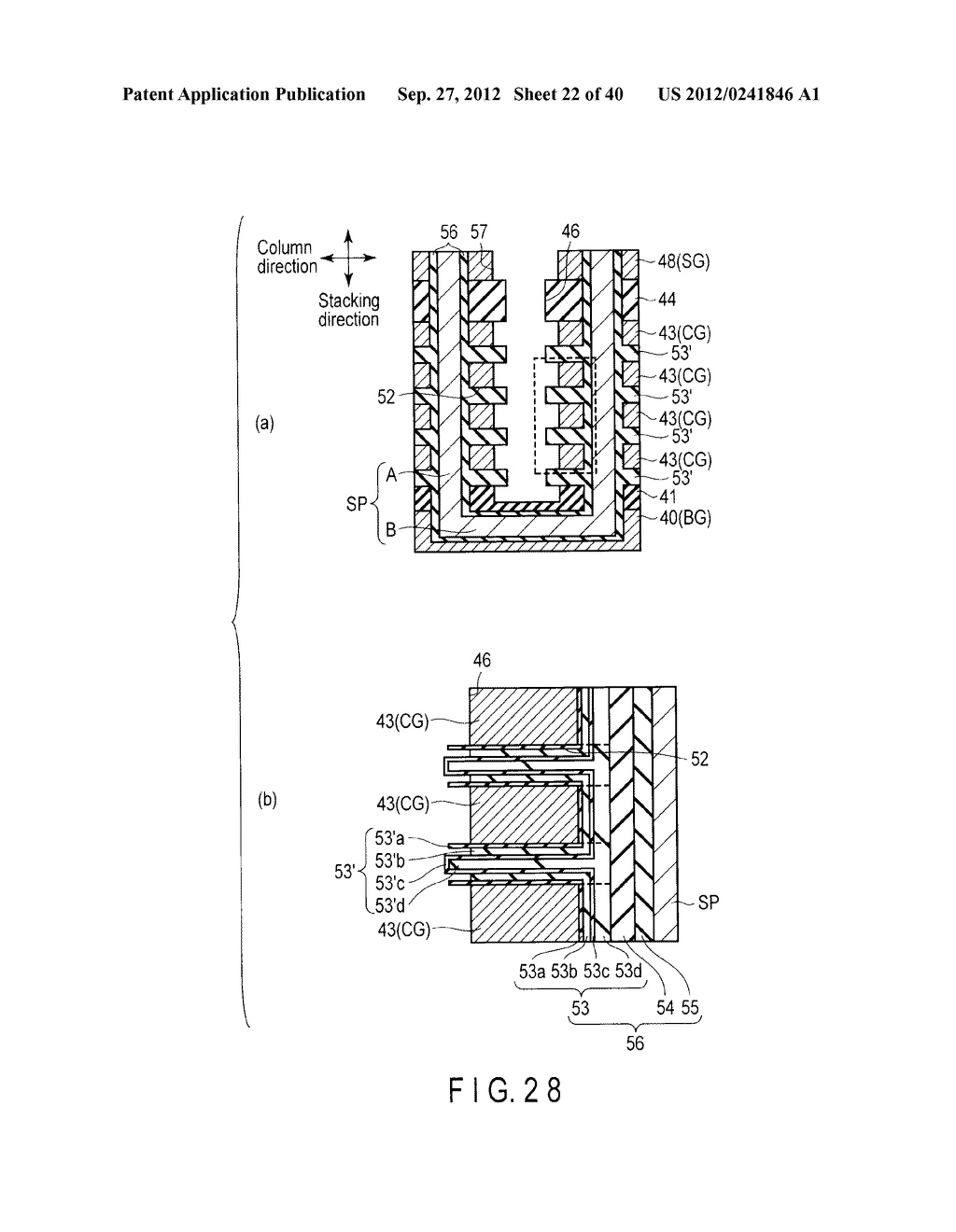 NONVOLATILE SEMICONDUCTOR MEMORY DEVICE AND METHOD OF MANUFACTURING THE     SAME - diagram, schematic, and image 23