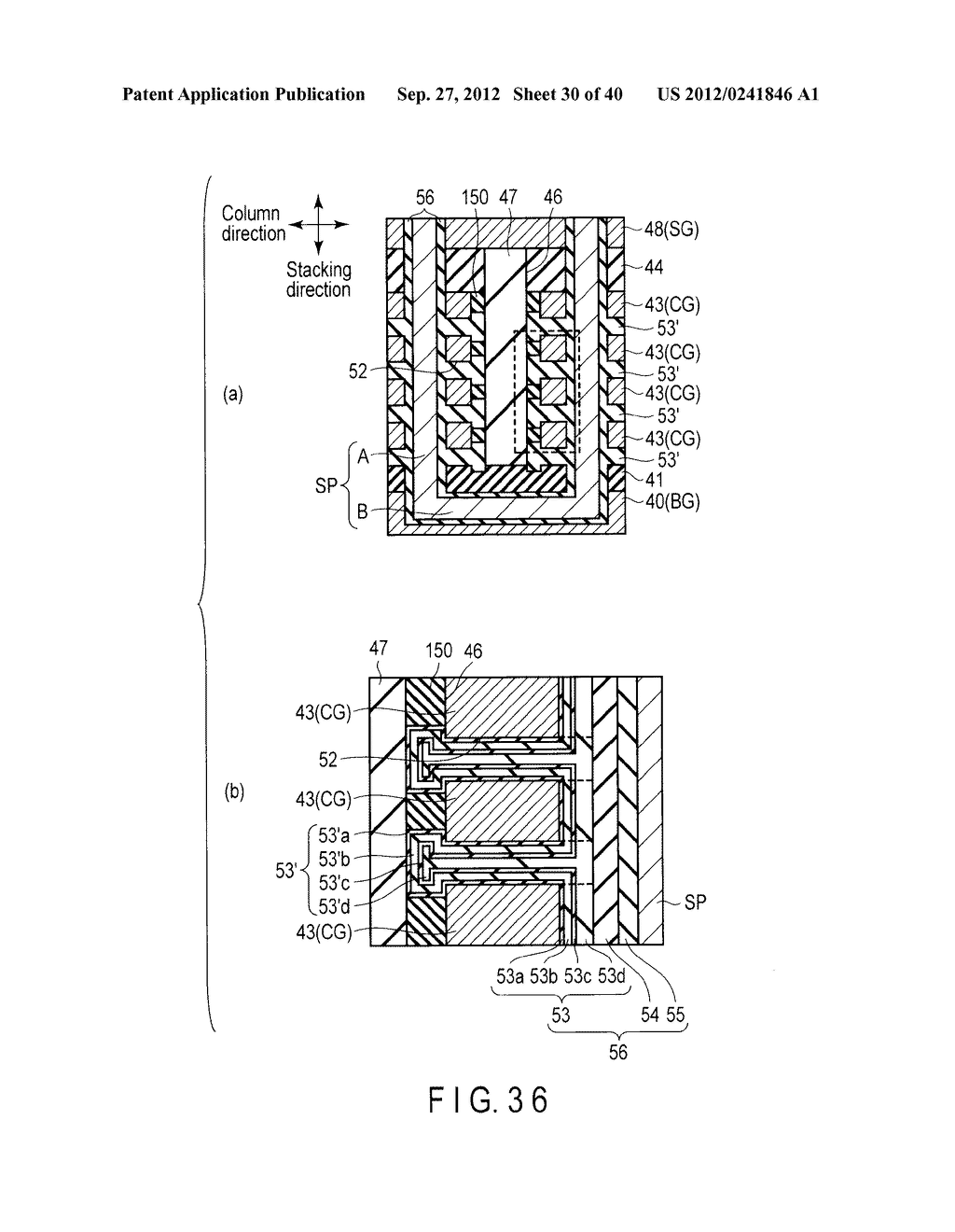 NONVOLATILE SEMICONDUCTOR MEMORY DEVICE AND METHOD OF MANUFACTURING THE     SAME - diagram, schematic, and image 31
