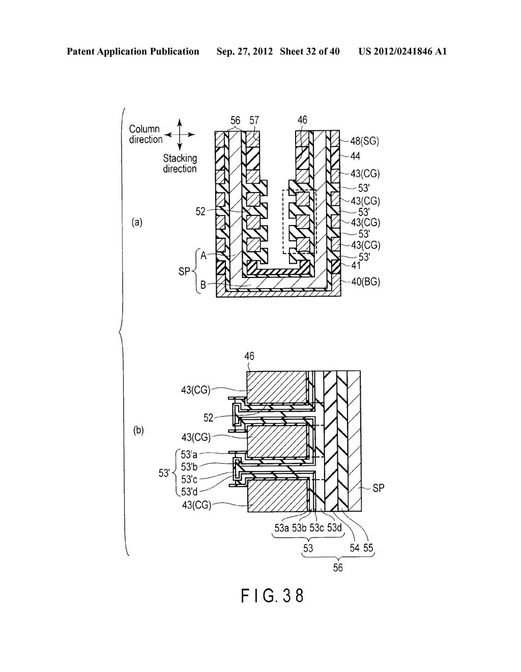 NONVOLATILE SEMICONDUCTOR MEMORY DEVICE AND METHOD OF MANUFACTURING THE     SAME - diagram, schematic, and image 33
