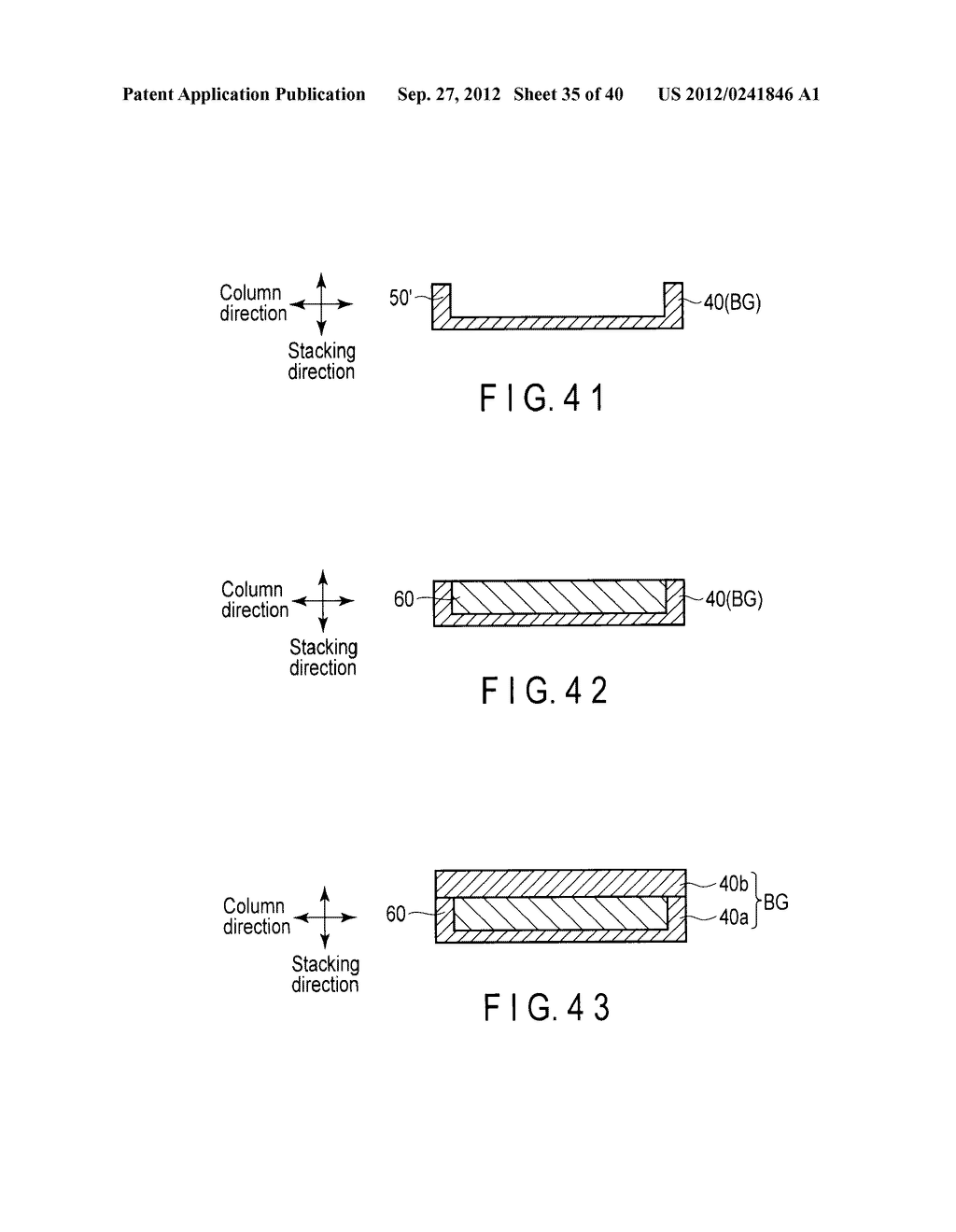 NONVOLATILE SEMICONDUCTOR MEMORY DEVICE AND METHOD OF MANUFACTURING THE     SAME - diagram, schematic, and image 36