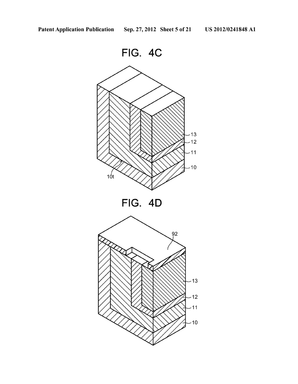 SEMICONDUCTOR ELEMENT AND METHOD OF MANUFACTURING SEMICONDUCTOR ELEMENT - diagram, schematic, and image 06