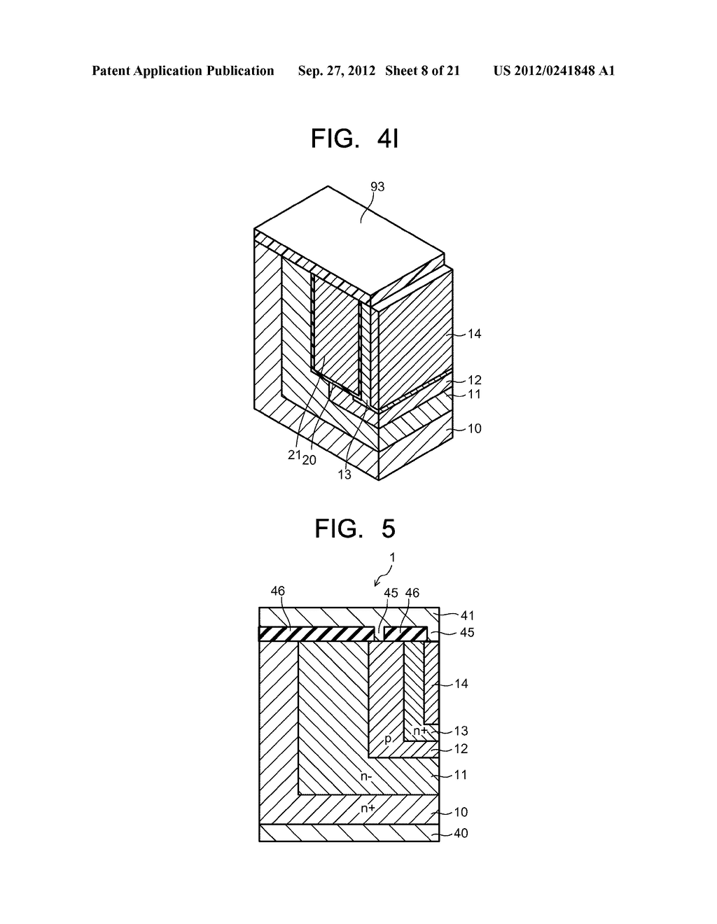 SEMICONDUCTOR ELEMENT AND METHOD OF MANUFACTURING SEMICONDUCTOR ELEMENT - diagram, schematic, and image 09