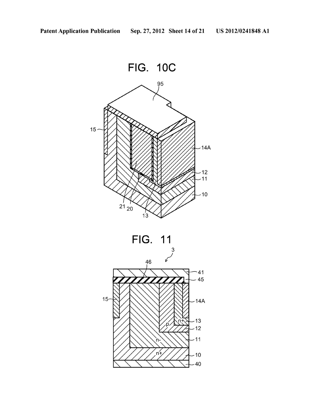 SEMICONDUCTOR ELEMENT AND METHOD OF MANUFACTURING SEMICONDUCTOR ELEMENT - diagram, schematic, and image 15