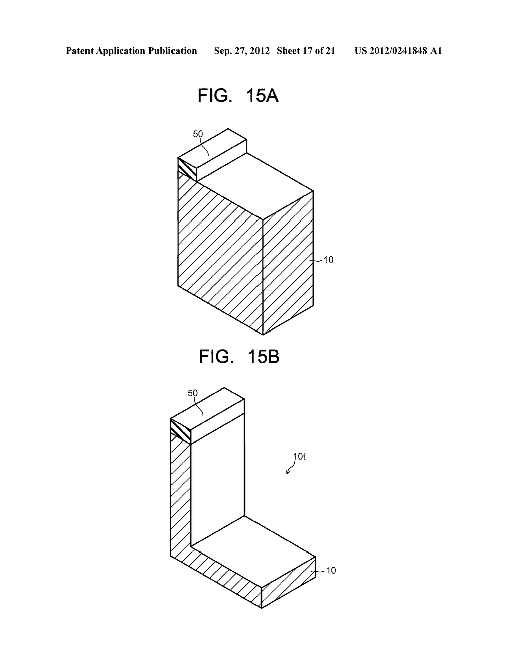 SEMICONDUCTOR ELEMENT AND METHOD OF MANUFACTURING SEMICONDUCTOR ELEMENT - diagram, schematic, and image 18
