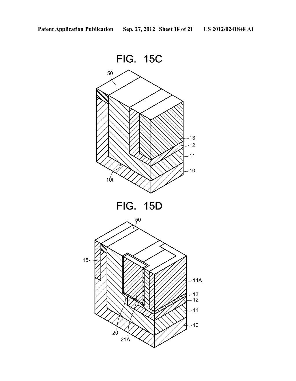 SEMICONDUCTOR ELEMENT AND METHOD OF MANUFACTURING SEMICONDUCTOR ELEMENT - diagram, schematic, and image 19