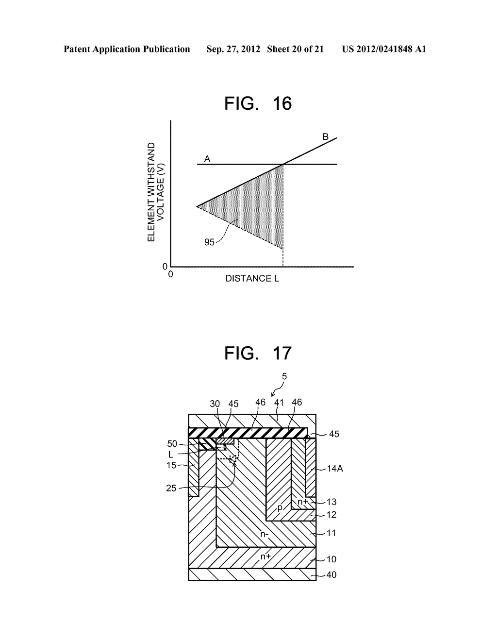 SEMICONDUCTOR ELEMENT AND METHOD OF MANUFACTURING SEMICONDUCTOR ELEMENT - diagram, schematic, and image 21