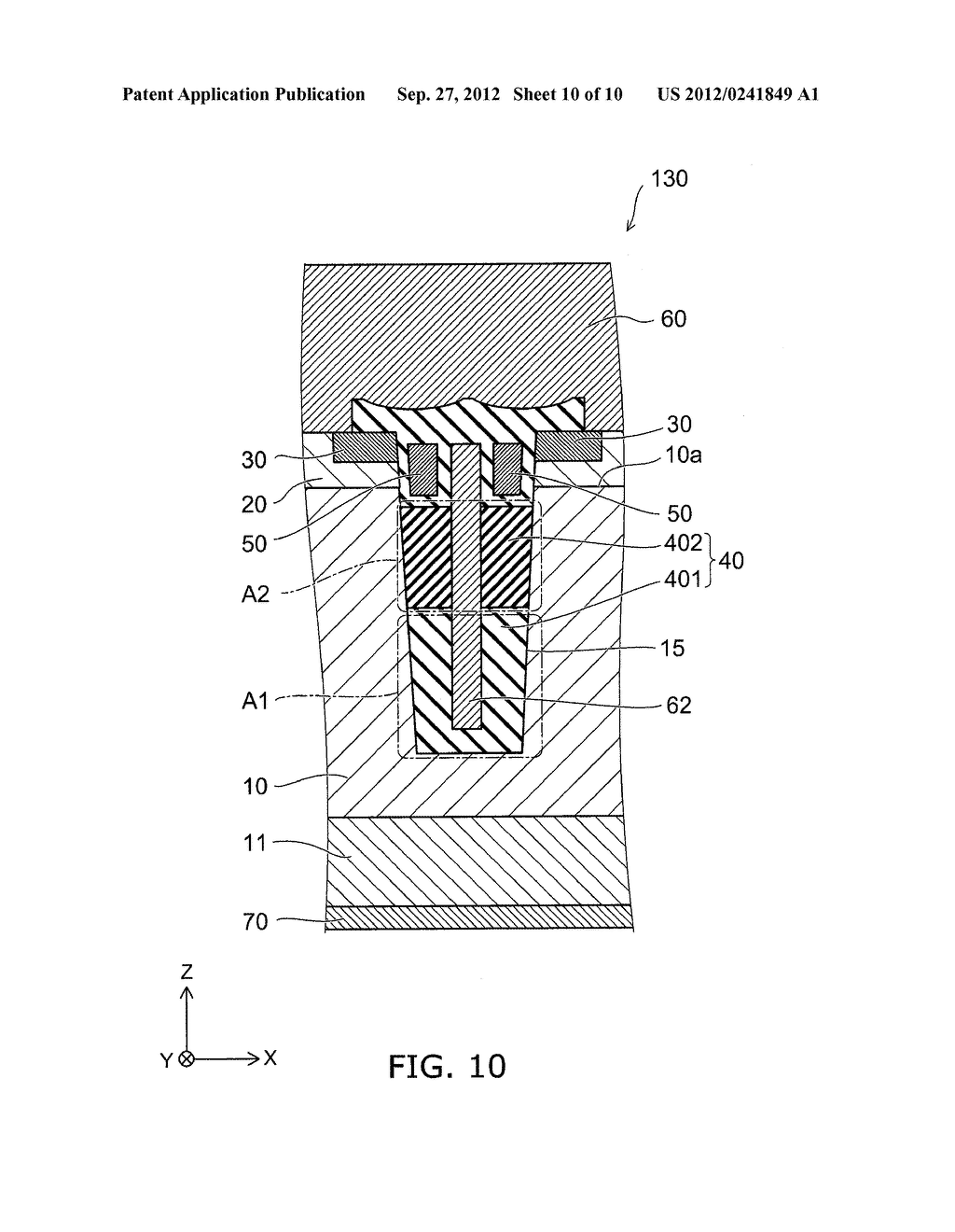 SEMICONDUCTOR DEVICE AND METHOD FOR MANUFACTURING SAME - diagram, schematic, and image 11