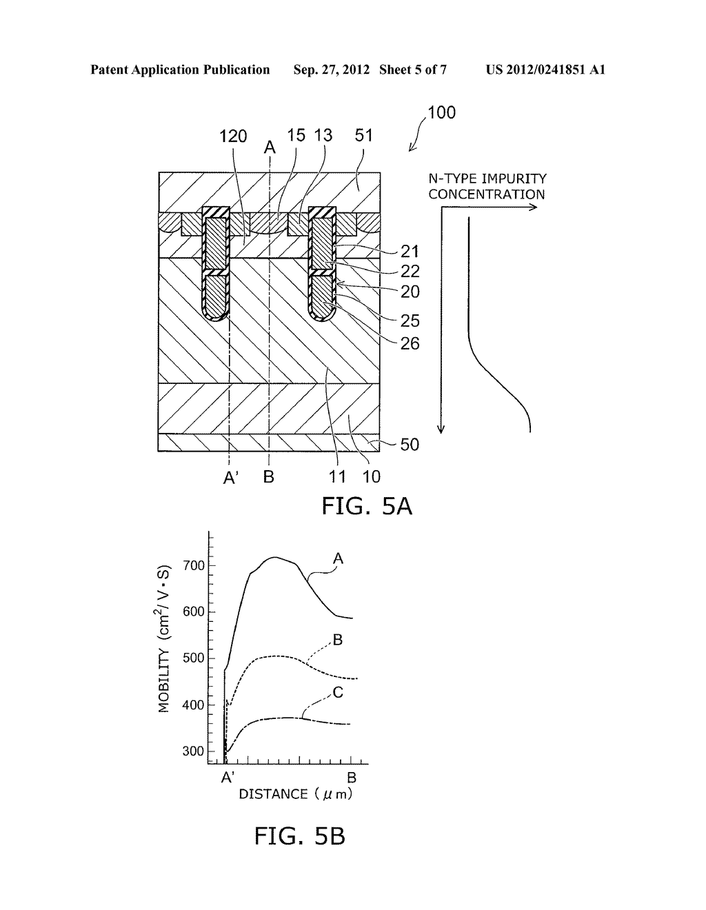SEMICONDUCTOR DEVICE AND METHOD FOR MANUFACTURING SAME - diagram, schematic, and image 06
