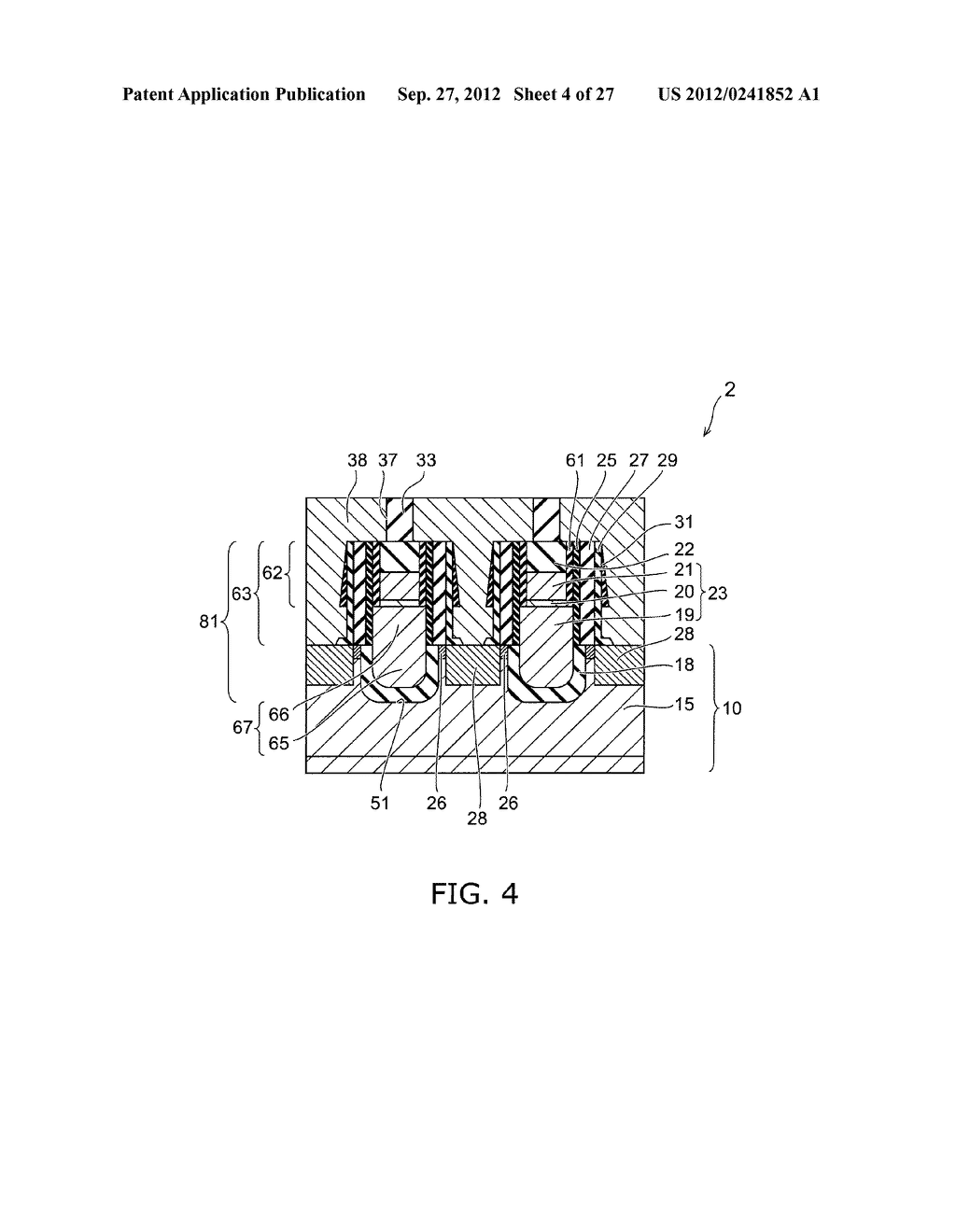 SEMICONDUCTOR DEVICE AND METHOD FOR MANUFACTURING SAME - diagram, schematic, and image 05