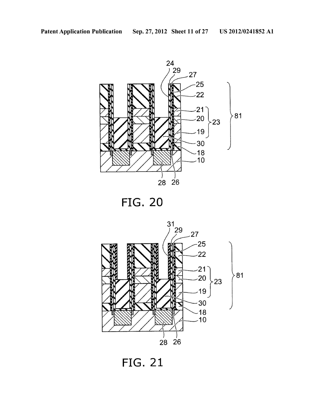 SEMICONDUCTOR DEVICE AND METHOD FOR MANUFACTURING SAME - diagram, schematic, and image 12