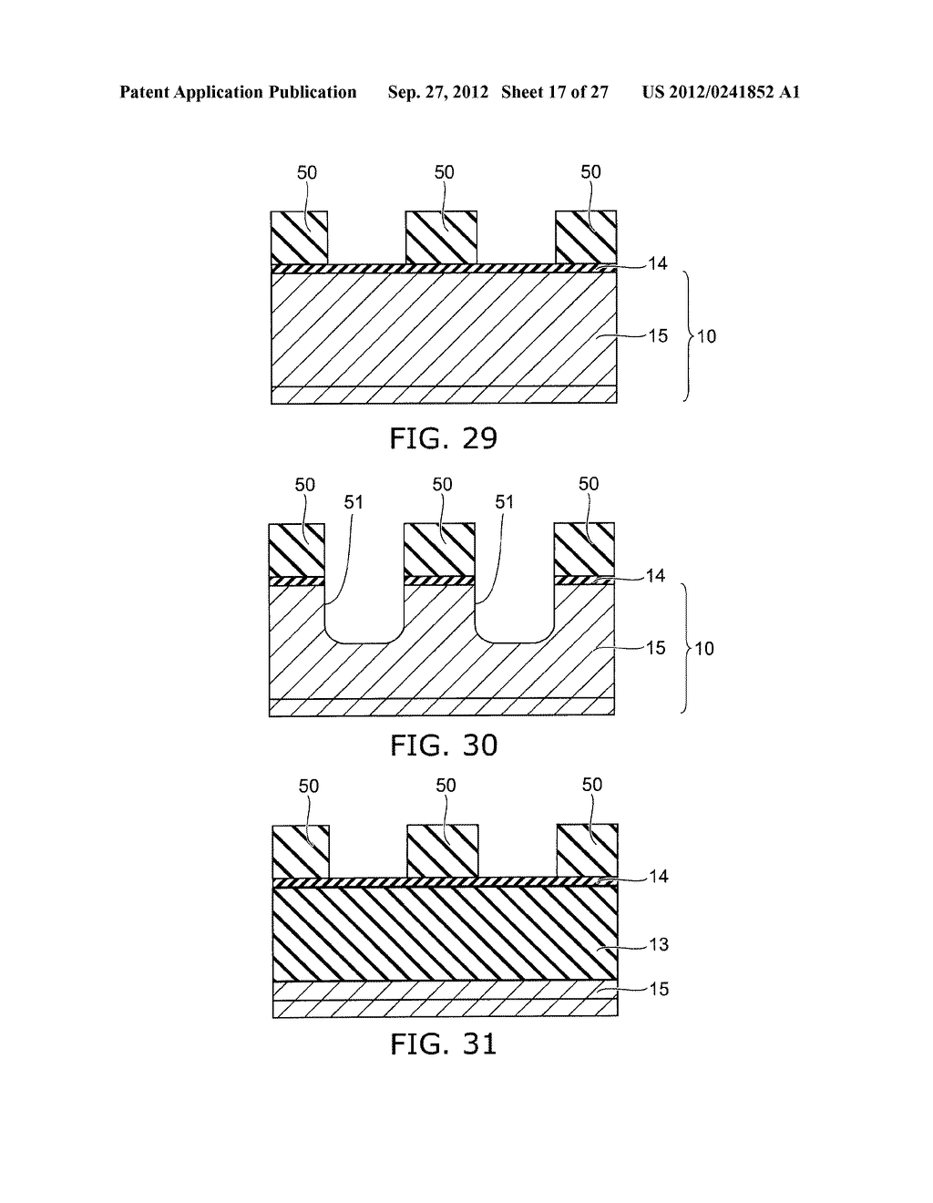 SEMICONDUCTOR DEVICE AND METHOD FOR MANUFACTURING SAME - diagram, schematic, and image 18