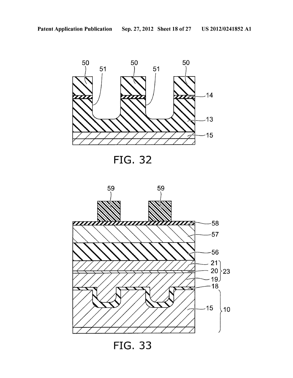 SEMICONDUCTOR DEVICE AND METHOD FOR MANUFACTURING SAME - diagram, schematic, and image 19