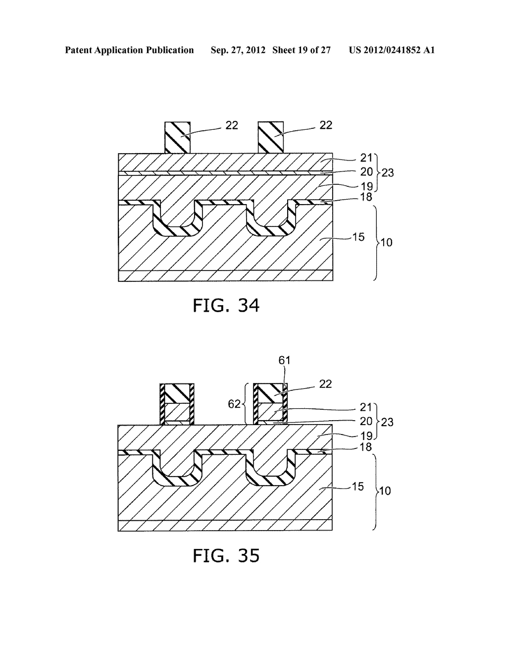 SEMICONDUCTOR DEVICE AND METHOD FOR MANUFACTURING SAME - diagram, schematic, and image 20