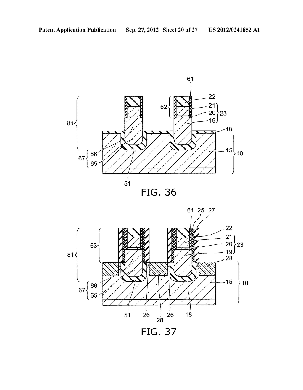 SEMICONDUCTOR DEVICE AND METHOD FOR MANUFACTURING SAME - diagram, schematic, and image 21