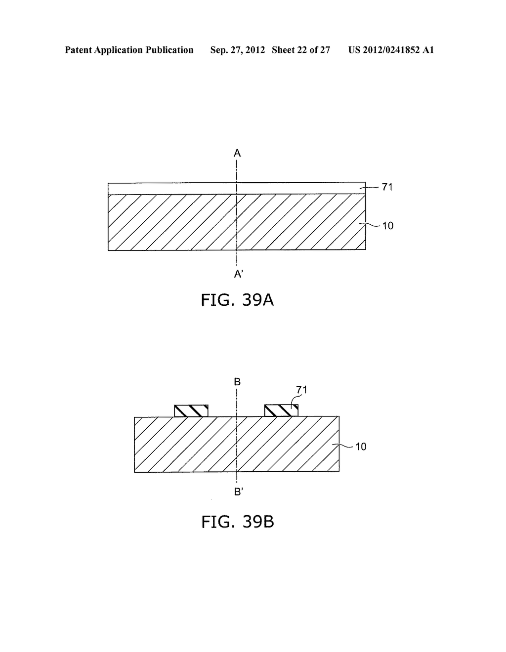 SEMICONDUCTOR DEVICE AND METHOD FOR MANUFACTURING SAME - diagram, schematic, and image 23