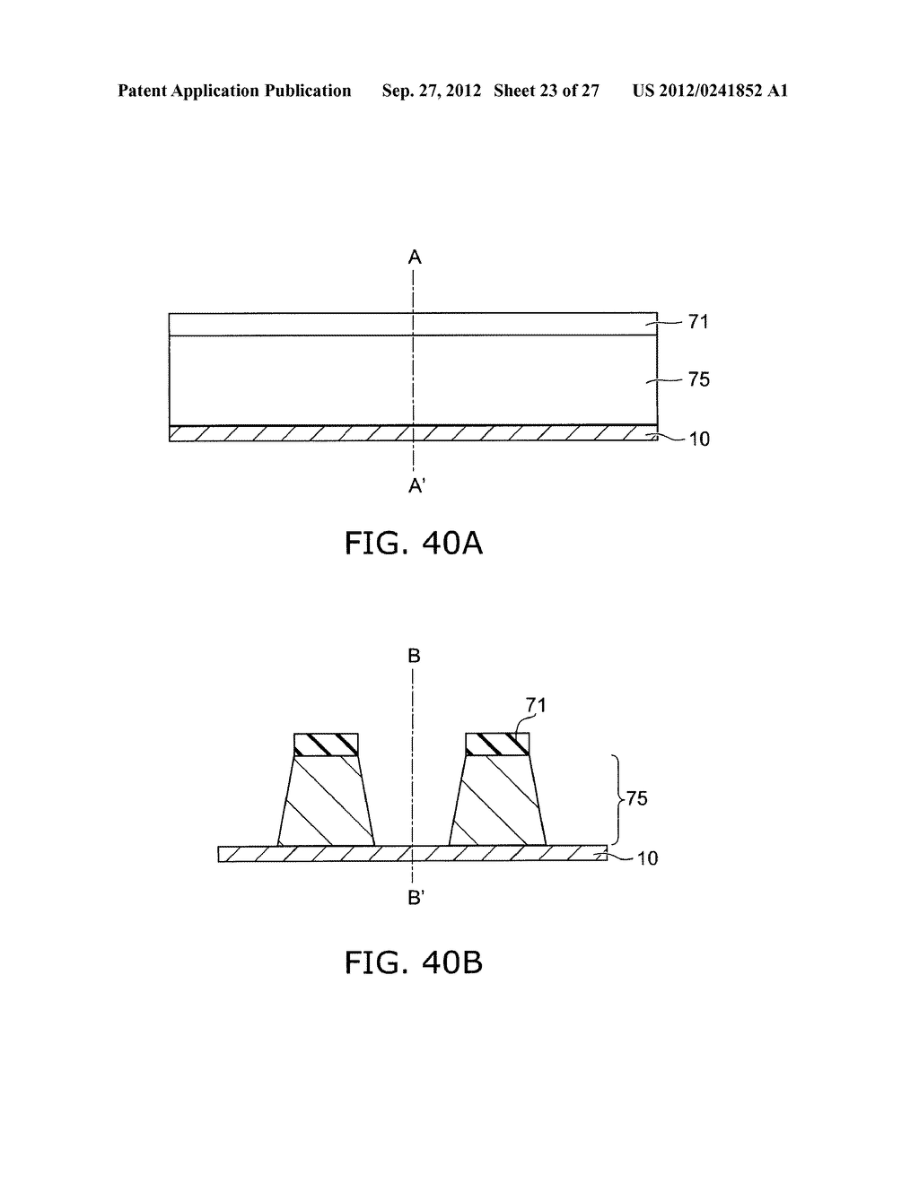 SEMICONDUCTOR DEVICE AND METHOD FOR MANUFACTURING SAME - diagram, schematic, and image 24