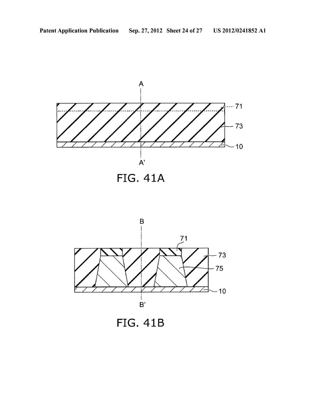 SEMICONDUCTOR DEVICE AND METHOD FOR MANUFACTURING SAME - diagram, schematic, and image 25